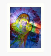 Mary Holy Mother of Jesus Art Print
