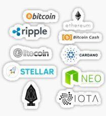 Top 10 Cryptocurrencies Sticker Pack! Sticker