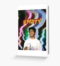 Kevin Abstract Greeting Card