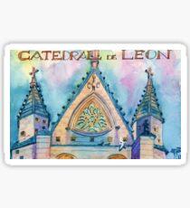Léon Cathedral. Spain. Sticker
