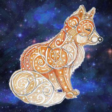 Celestial Fox by cannibaljp