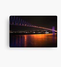 Istanbul Bridge Canvas Print