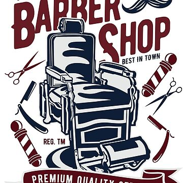 Vintage Classic Barber Shop - Premium Quality Service by flipper42