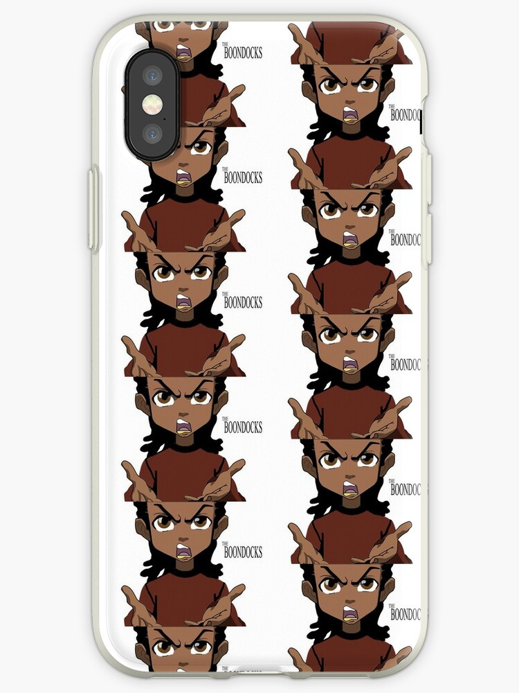 riley from boondocks iphone cases covers by blue phoenix redbubble