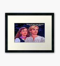 Monkey Island: Never pay more than $20 for a computer game Framed Print
