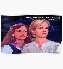 Monkey Island: Never pay more than $20 for a computer game Poster