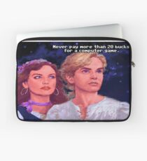 Monkey Island: Never pay more than $20 for a computer game Laptop Sleeve