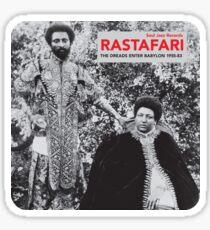Rastafari. Soul Jazz-Schallplatten Sticker