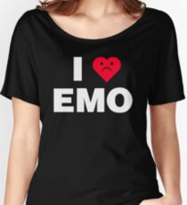 I Heart Emo Women's Relaxed Fit T-Shirt