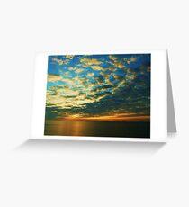 Sunrise over Felixstowe Greeting Card