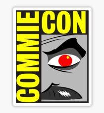 Commie Con Sticker
