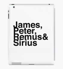 James, Remus, Sirius & Peter iPad Case/Skin