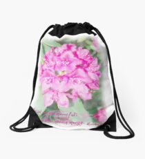 Matthew 5:7 Drawstring Bag