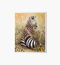 The Hunter Zebra Art Board