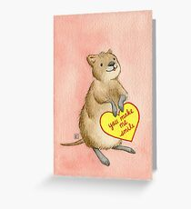 Valentines: You Make Me Smile Greeting Card