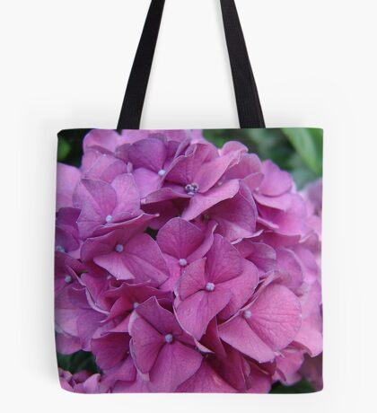 Violet Hydrangeas Tote Bag