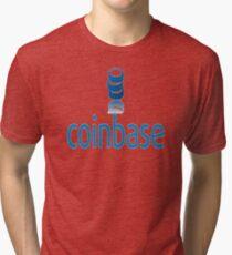 Coinbase Tri-blend T-Shirt