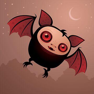 Ojos rojos el vampiro murciélago de fizzgig