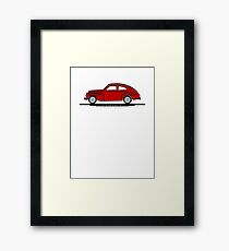 Volvo PV544 Red for The Volvo Fans Framed Print
