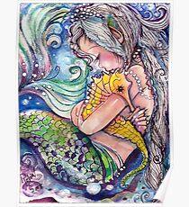 Póster SeaHorse Hugs