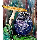Owl Caught in the Rain by Katherine May