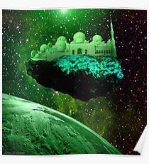 Comet Masjid Poster