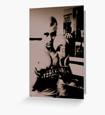 THE BOXER (5) Greeting Card