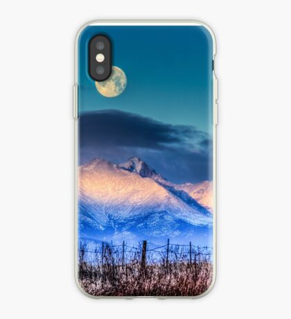 Kissing The Moon iPhone Case