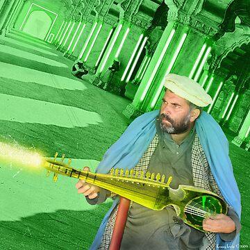 Pathan Electrodynamic Sitar Power by Dovetastic