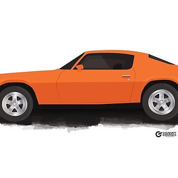 1972 CAMARO by gbloomdesign