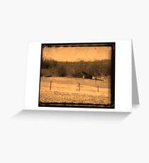 Ye Olde Barn Greeting Card