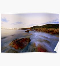 """ West Cape  Cape Conran Vic "" Poster"