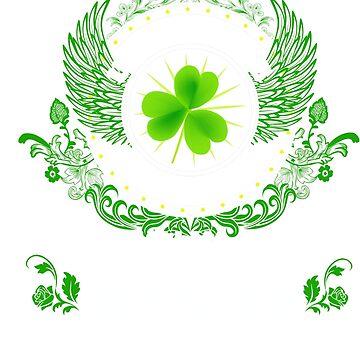 St Patrick's Day Women Shirt Never Underestimate The Power Of An Irish Women by Brasil365