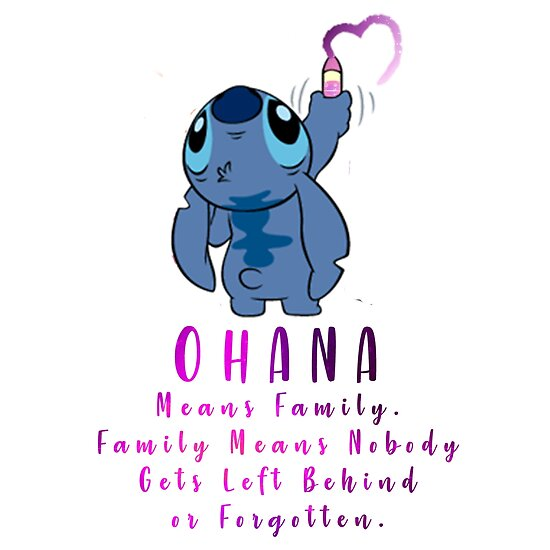 No One Gets Left Behind Lilo And Stitch