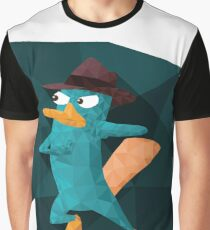 Perry the Geopuss Graphic T-Shirt