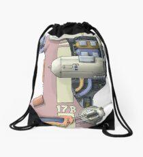 Bongship Drawstring Bag