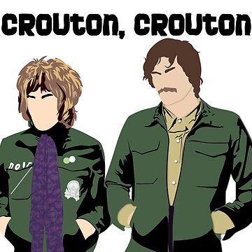 Crouton, Crouton by OutlineArt
