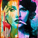 Addiction for Street Art by Anyes Galleani