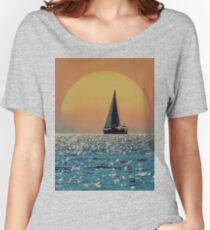 Red Sky at Night Women's Relaxed Fit T-Shirt