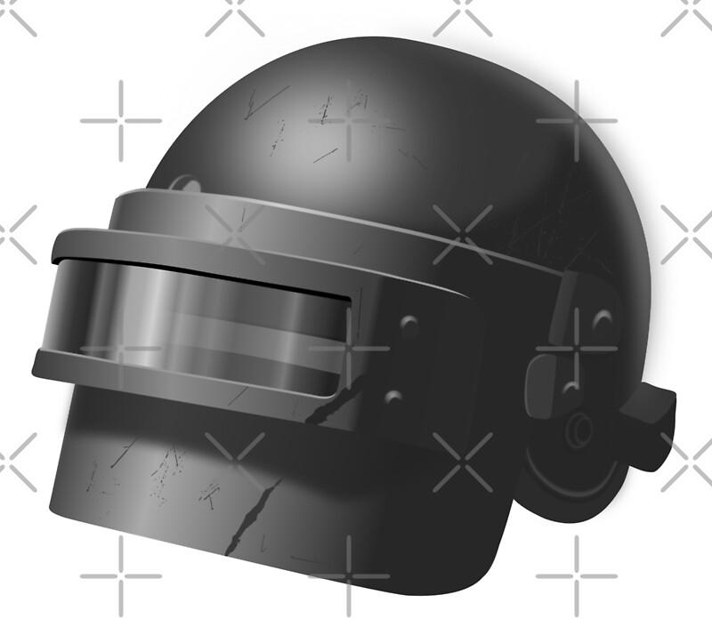 Russian spetsnaz helmet (PUBG level 3 helmet)    Art Print