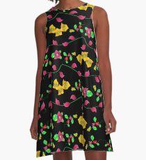 Floral - Bougainville A-Line Dress