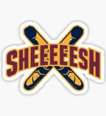 Sheeeeesh! Sticker