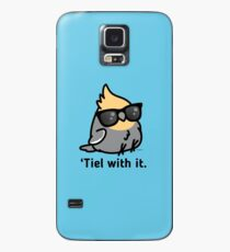 'Tiel with it - Grey Cockatiel Case/Skin for Samsung Galaxy