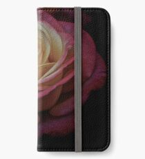 Antique Double Delight Rose  iPhone Wallet/Case/Skin