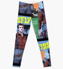 Firefly Vintage Comics Cover Leggings