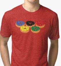 Donut Rings Tri-blend T-Shirt