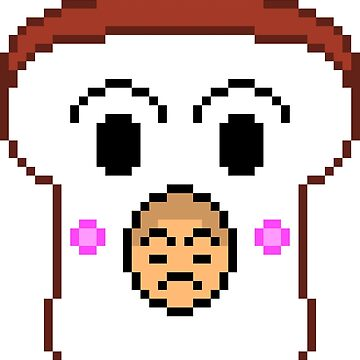 Gaki no Tsukai / ガキの使い - Pixel Art - Bread Boy by TheLoneNub