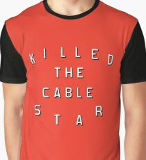 guess who killed the cable star? (netflix) Graphic T-Shirt