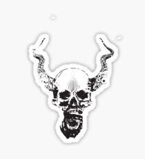 octupus skull Sticker