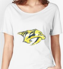 Preds Watercolor Women's Relaxed Fit T-Shirt